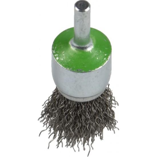 Cup brush INOX BR/BPS600W/S/25X6/INOX/0.3