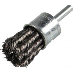 Cup brush ( Knotted, single row), BR/BPS600Z/S/19X6/STA/0.35/6/1