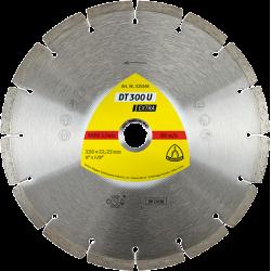 Universālais dimanta disks Klingspor DT300U, 125x22.23mm x 1.6mm