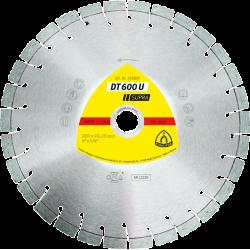 Universālais dimanta disks Klingspor DT600U, 125x22.23mm x 2.4mm