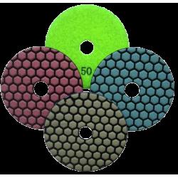 Pašlīmējošais dimanta pulēšanas disks DIA-HN - S, 100mm, BUFF(Bez abrazīva), Sausai pulēšanai