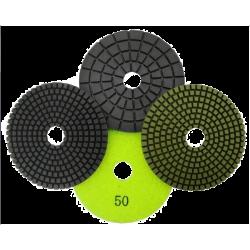 Pašlīmējošais dimanta pulēšanas disks DIA-HN - S, 100mm, BUFF(Bez abrazīva), SLAPJAI pulēšanai