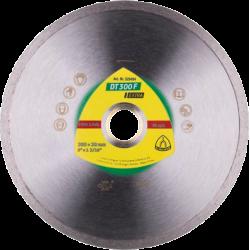 Dimanta disks flizēm Klingspor DT300F, 125x22.23mm x 1.6mm