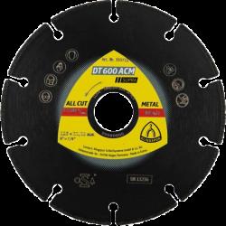 Klingspor DT600ACM, 125mm x 22.23mm x 1.3mm