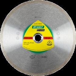 Dimanta disks flizēm Klingspor DT600F, 125x22.23mm x 1.6mm