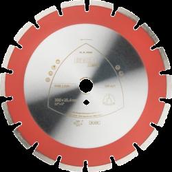 Dimanta disks betonam Klingspor DT602B, 300x25.4mm x 2.8mm
