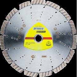 Industriālās klases dimanta disks  Klingspor DT900U Special, 115x22.23mm x 2.4mm