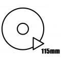 100mm - 115mm