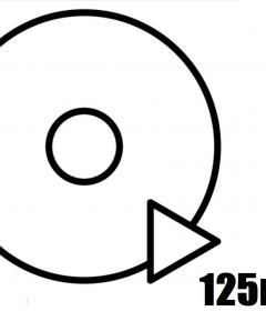 Diski 125mm