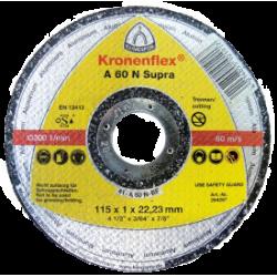Griezējdisks alumīnijam Klingspor A60N Supra 125 x 1.0mm x 22.23