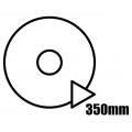 350mm