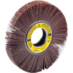 Abrasive mop Klingspor SM 611, 165 x 50 x 13mm, P40-240
