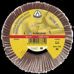 Abrasive mop Klingspor WSM 617, 125 x 20mm, P120