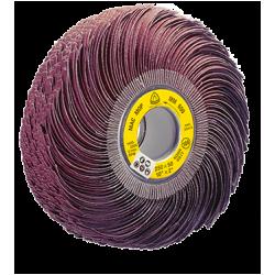 Abrasive mop Klingspor MM 650, 250 x 100 x 43.1mm, P80