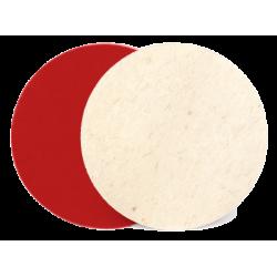 Pašlīmējošais pulēšanas  filca disks, 125mm x 10mm