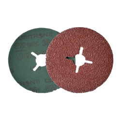 3M 982C Cubitron II fibro disks, 125mm, P60+