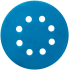 Pašlīmējošais disks Deerfos,SA331, 125mm, P240, GLS 5