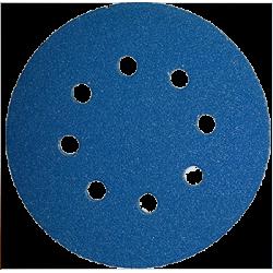 Klingspor cirkonija disks, PS21FK, 125mm, P100, GLS5