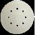 Pašlīmējošais disks Klingspor PS33BK/CK,125mm, P150, GLS5