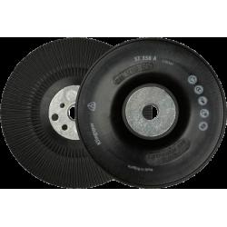 Cietā pamatne fibro diskiem ar ventilācijas rievām, 125mm, M14