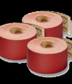 Smilšpapīrs ruļļos - platums līdz 150mm